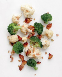 broccoli cauliflower bacon