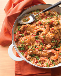 chicken shrimp paella