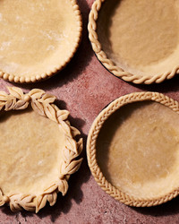 decorative pate brisee pie crusts