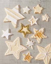 gluten free star sugar cookies
