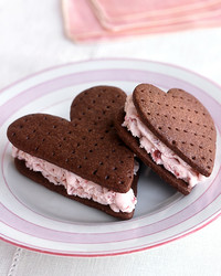 heart cookie sandwich valentines
