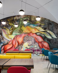 This New Restaurant Blurs the Lines Between Food and Art Beautifully