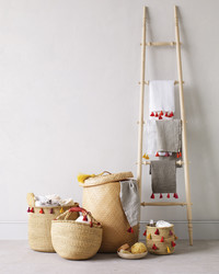 Hampers and Towels with Tassels