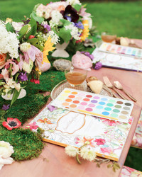 "Enter This Secret Garden for a Magical ""Paint and Sip"" Party"