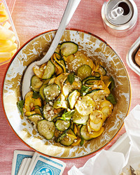 zucchini-and-squash salad
