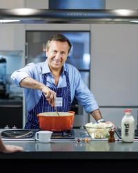 Daniel Boulud's Ratatouille with Baked Eggs Recipe