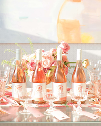Cheers! It's a Pretty-in-Pink Rosé Wine-Tasting Party