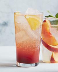 hibiscus black tea spritzer