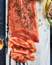 juniper and fin gravlax salmon