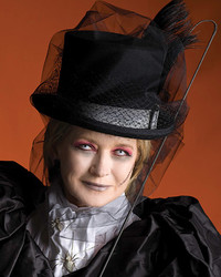 Martha's Ghostly Equestrienne Makeup