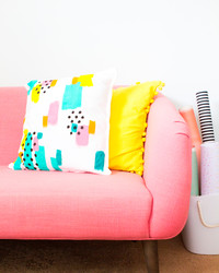 Update Your Throw Pillows With This Easy DIY