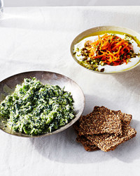 These Make-Ahead Vegetable Dips Are an Entertaining Lifesaver