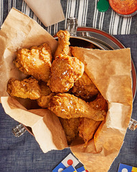 crispiest fried chicken