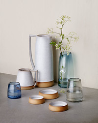 You'll want this elegant glassware and ceramics line.