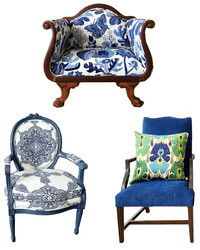 These Chair Makeovers Are Motivating Us to Hit The Flea Markets