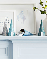 Count Down to the Holidays With This Glittered Display