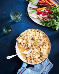 热蟹牡蛎蘸酱