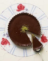 Milk Chocolate-Pistachio Tart
