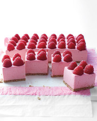 Raspberry Mousse Pie