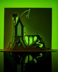 Meet the Horrorgami Master (With His Tips and Tricks for Paper Houses)