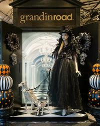 Take a Tour Inside Grandin Road's Halloween Pop-up Shop (If You Dare)