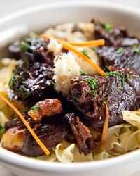 Beef Stew with Fresh Horseradish