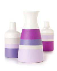 Custom Painted Vases
