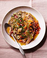 slow cooker persian lamb stew