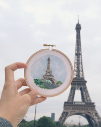 Follow One Woman as She Embroiders Her Way Around the World