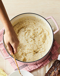 creamy stone ground grits