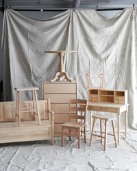 Milk, Wax, and Spray Paint: 6 Fab Finishes for Your Raw Wood Furniture