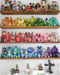 Sara Harvey's Modern Toy Collection is a Whimsical Wonderland
