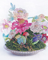 This Arrangement of Watercolor Flowers Will Last Beyond the Summer Season