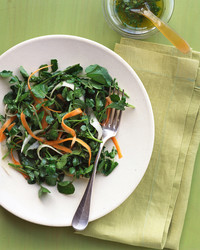 Watercress Salad with Carrots and Jicama
