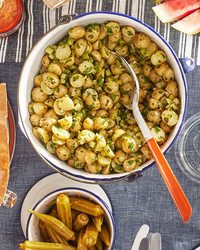 herbed celery-potato salad