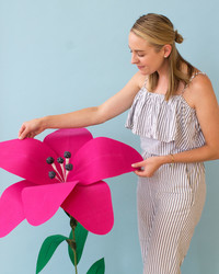 These Giant Fabric Flowers Are Like Something Out of a Wonderland Fantasy