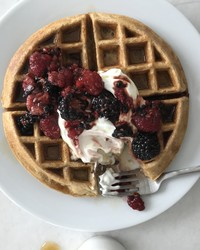 Waffles on a Weekday -- And They're Healthy Too!
