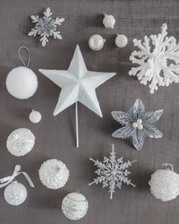 Turn Your Home Into a Winter Wonderland with a Snowy Tree