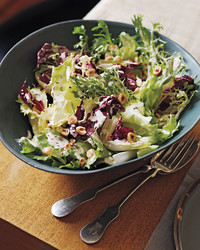 chicory salad meyer lemon dressing