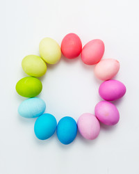 Easter Egg Dyeing Color Wheels