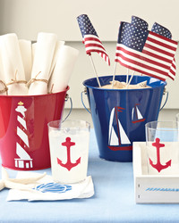 Summer Craft Fun: Nautical Study Medium Stencil