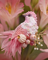 We're Feeling All Aflutter Because of These Delicately Beaded Birds