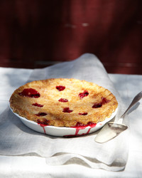 Classic Cherry Pie with a Butter Crust