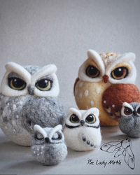 Owls, Birds, and Foxes! These Felted Woodland Animals Capture Our Hearts