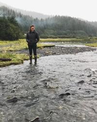 Autumn in Alaska, Salmon in the Rivers