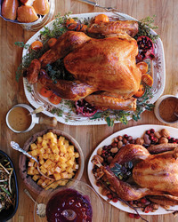 Roasted Heritage Turkey with Aromatic Brine