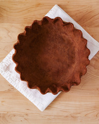 Super-Simple Chocolate Pie Crust