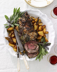 rolled rib eye roast