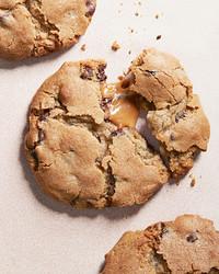 焦糖巧克力夹心饼干