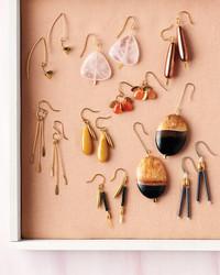 DIY Style: Stone Bead Earrings